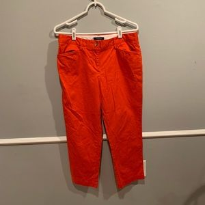 Ankle chino pants